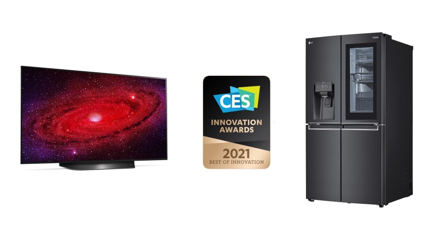 LG vant stort under 2021 CES Innovation Awards