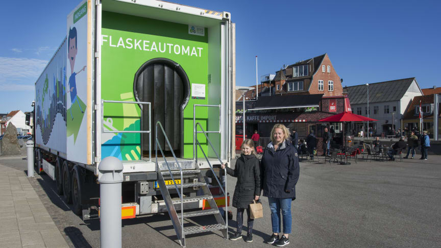 Sanne Kierkegaard Pedersen og hendes datter Sara var en tur i Learning Lab.