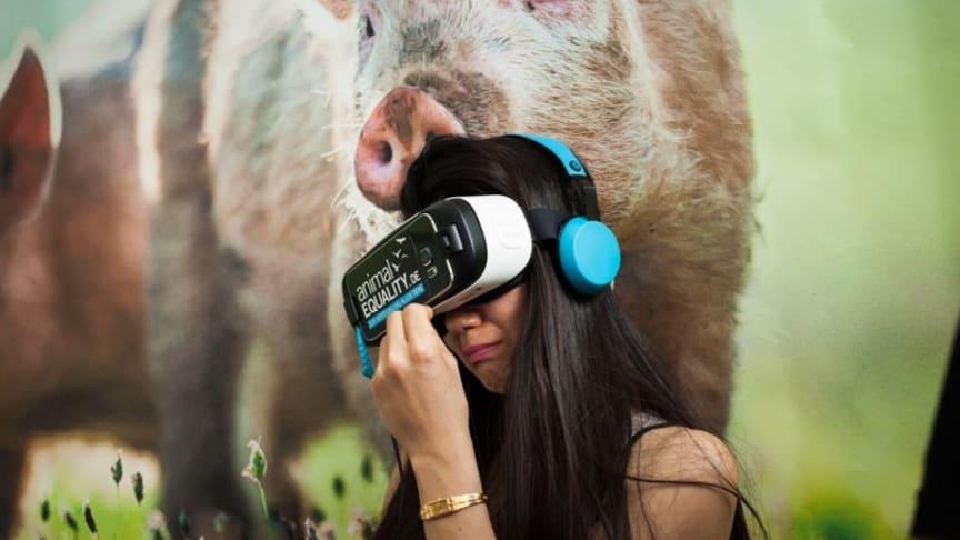 Turné med Virtual Reality-upplevelse från djurindustrin