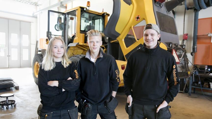 Elever på Edströmska, foto: Per Groth