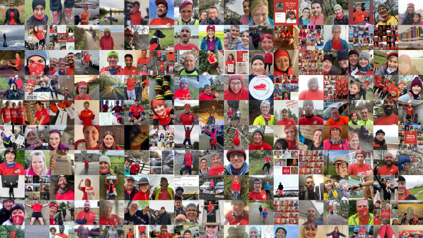 A montage of 2021 REDers courtesy of RED January