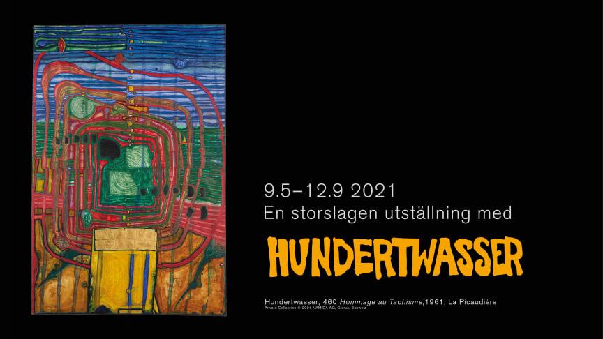Sommaren på Nordiska Akvarellmuseet: Friedensreich Hundertwasser