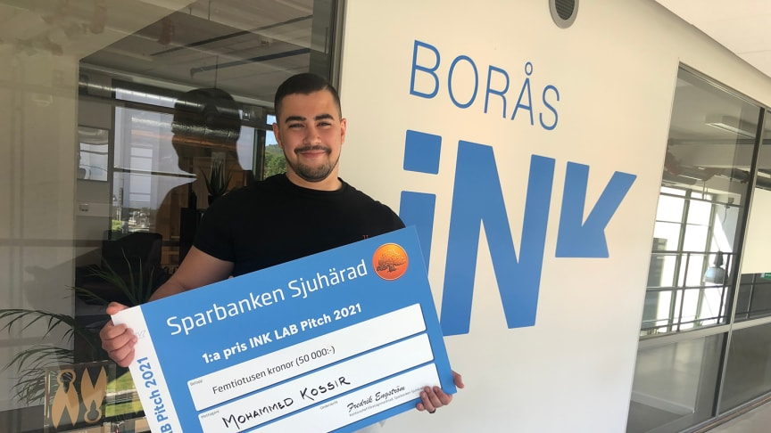 Mohammed Kossir vinnare av INK LAB VT 2021