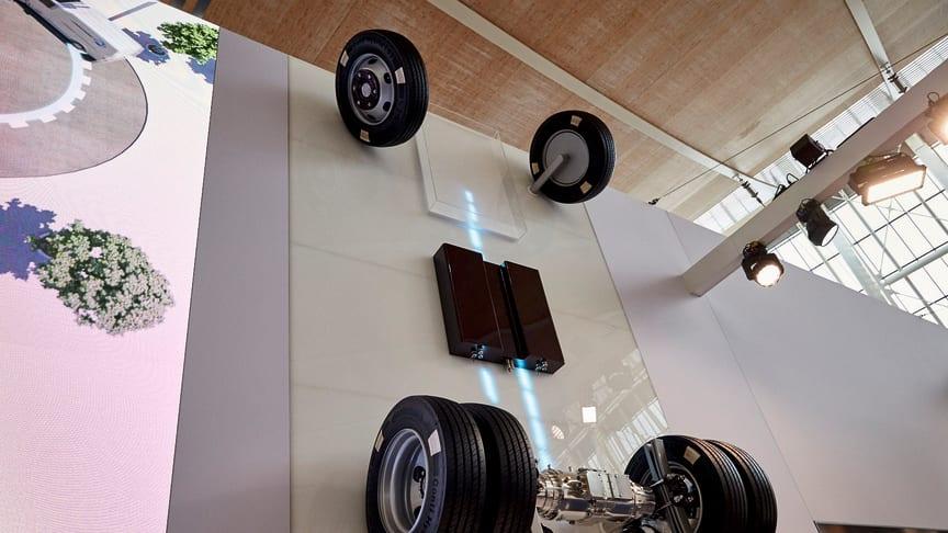 Auf der IAA in Hannover präsentierte BPW erstmals seine elektrisch angetriebene Achse eTransport, die auch in München eines der Top-Themen ist.