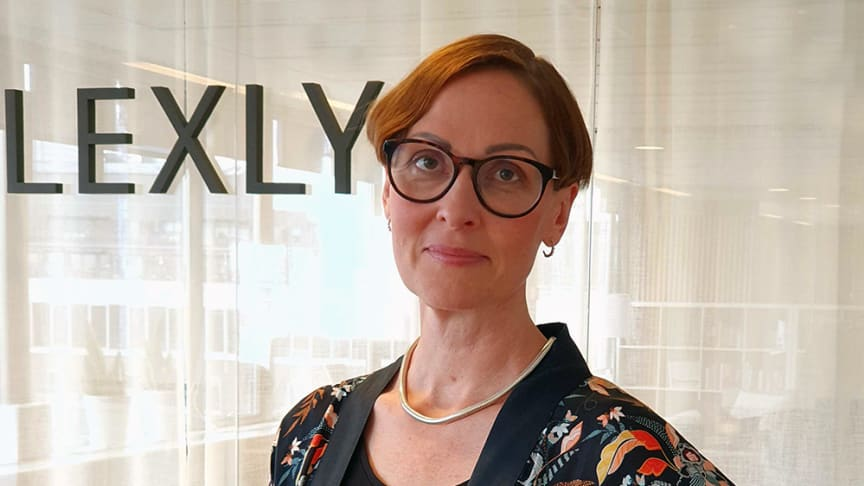 Anna Tegstam, new CPO at Lexly