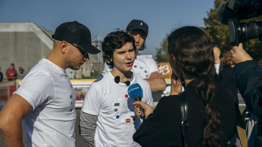 I 2018 var det bl.a. Lukas Graham, der var med til at uddele Plads til forskelle prisen til Ombold – et gadefodboldfælleskab for udsatte og hjemløse. Foto: Andreas Raun