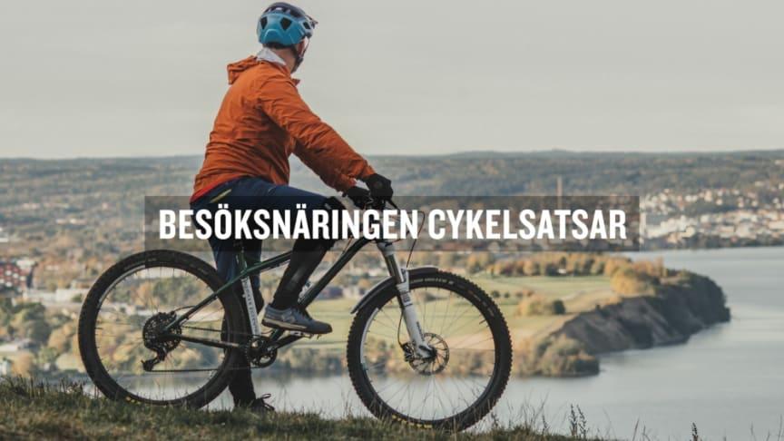 Destination Jönköpings cykelkampanj har lyft exempel på besöksnäringsaktörer som satsat på cykel