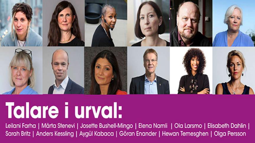 Idag drar digitala Mänskliga Rättighetsdagarna igång med livesändningar från Uppsala Konsert & Kongress!