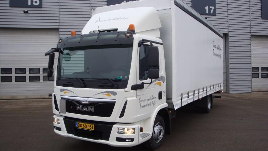 Ny MAN TGL lastbil til Søren Jakobsen Transport A/S