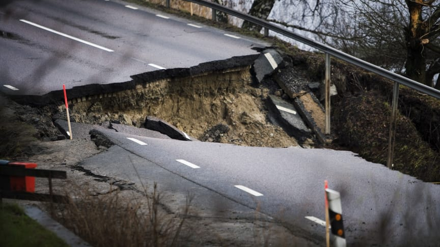 Här är Sveriges största riskområden för ras, skred, erosion och översvämning
