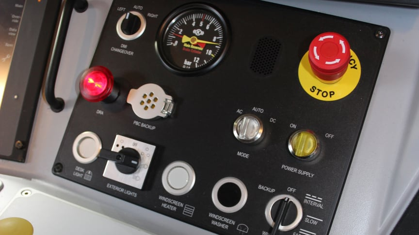 ATO has been used for the first time in passenger service over the ETCS in-cab signalling system