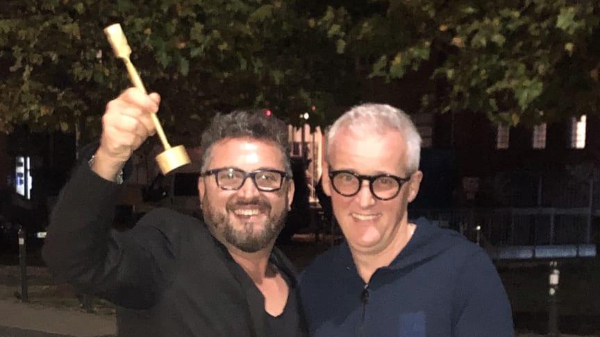 Giovanni Morreale (links) und Frank Brormann (rechts)