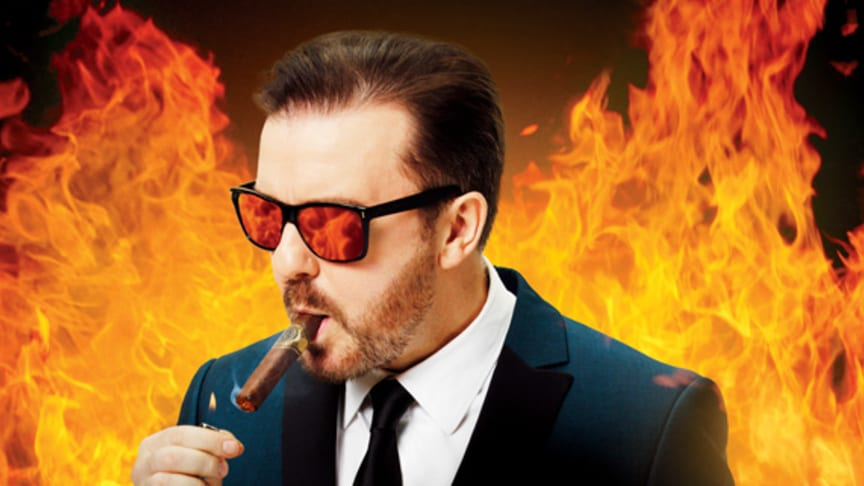 SJ snabbaste biljetten till Ricky Gervais show