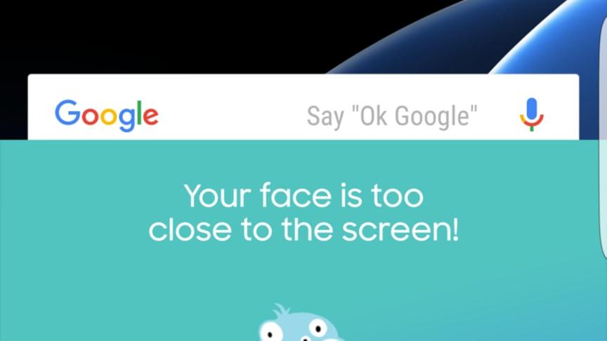Samsung esittelee uuden silmiä suojaavan sovelluksen