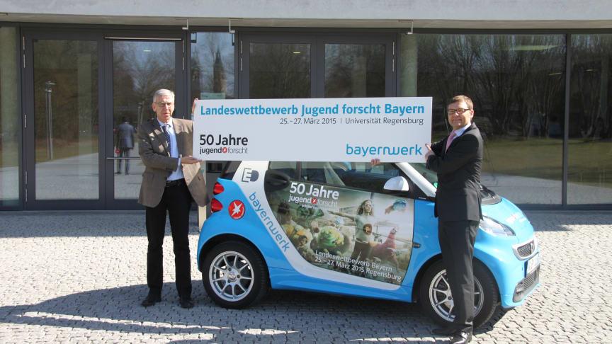 Presseinformation: 50 Jahre Jugend forscht – Jubiläumswettbewerb in Regensburg