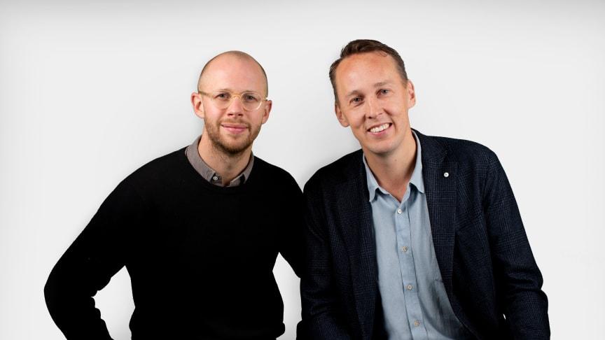 Rickard Åstrand, Head of Bodystore och Johan Görgård, VD HSNG AB.
