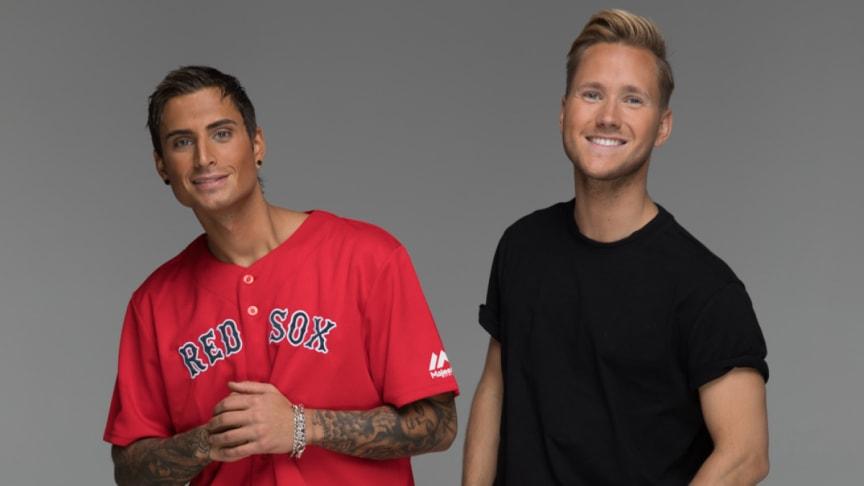 Samir & Viktor spelar i Linköping på blixtsnabb Sverigeturné