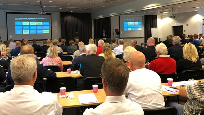 Bilden är från den första utbildningsträffen som hölls för kommuner inom Fyrbodal.
