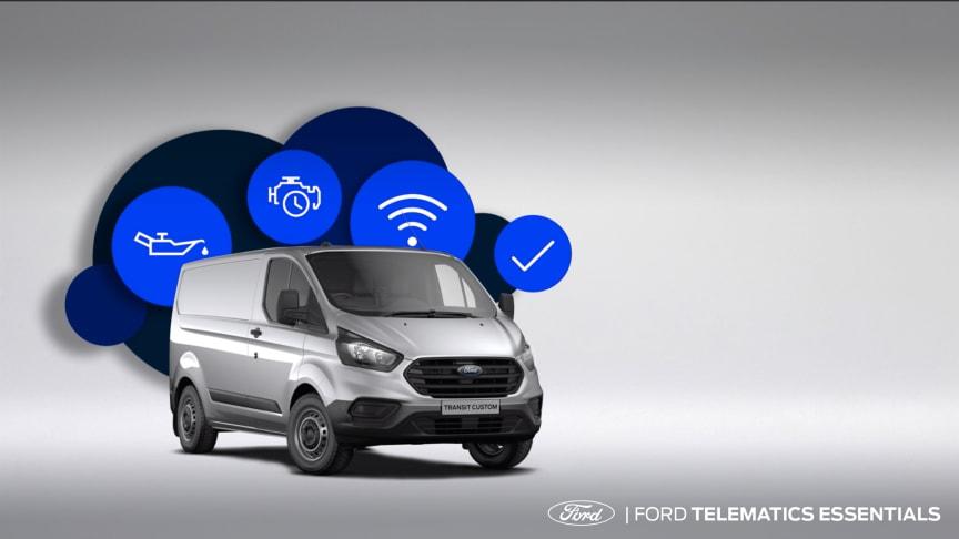 Ford Telematics Essentials er et nyt softwareprogram til Fords flådekunder.