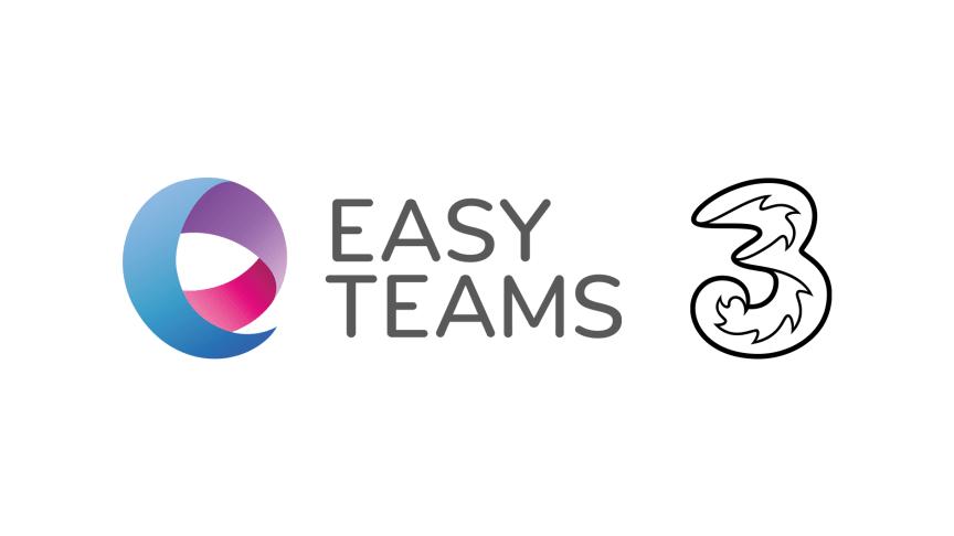 Tre(dje) operatören integrerad med Easy Teams
