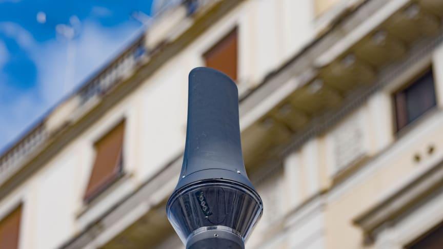 Sonys intelligente billedsensorer bliver en central del af nyt smart city-projekt i Rom