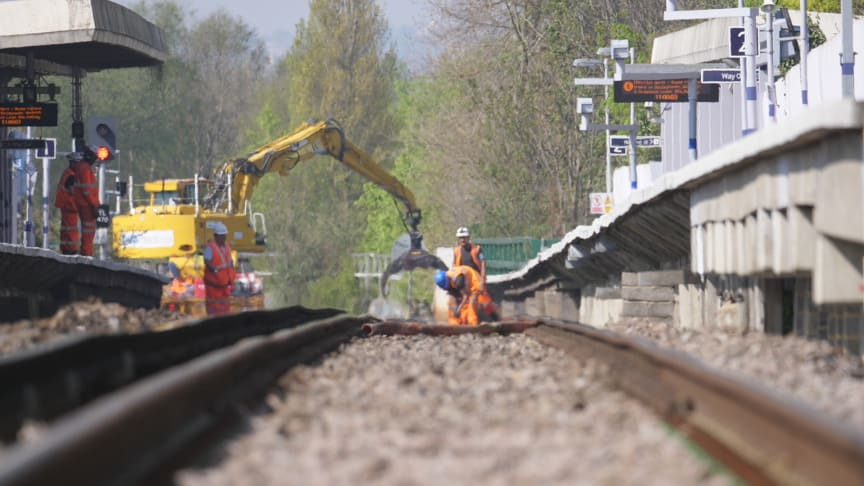 Track improvement work will reduce train services in and out of King's Cross this weekend