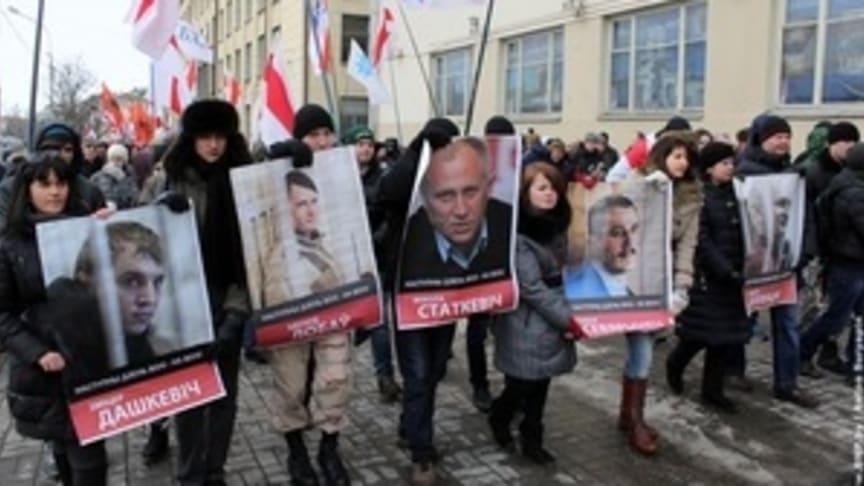 Vitryssland: Kampen för oberoende och yttrandefrihet har ett högt pris
