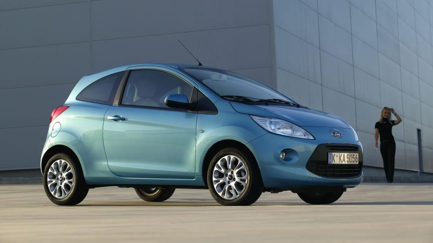 Ny bil? Ford Ka fra kun 65.990 kroner