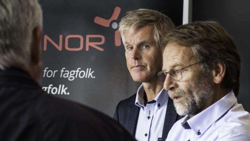 Einar Thorén, Geir Larsen (Trainor Elsikkerhet AS)