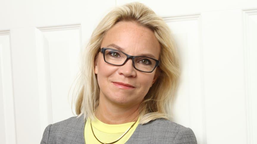 Charlotte Broberg (M), fastighets- och serviceregionråd.