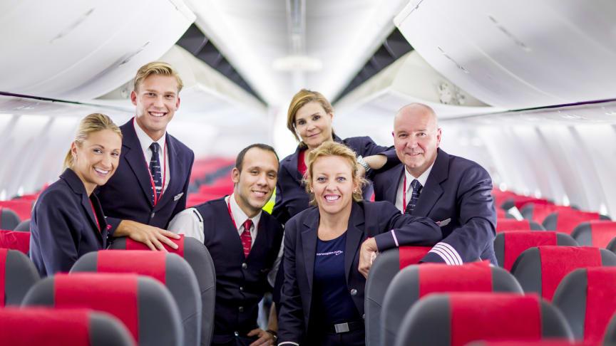 Norwegians 737-besetning