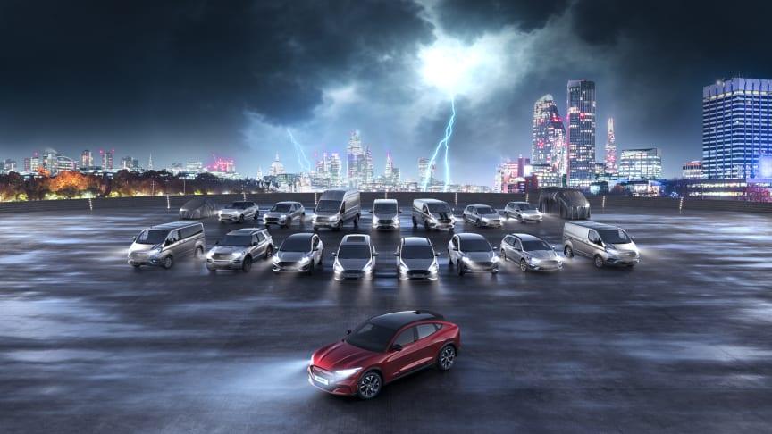 2021 végéig a Ford 18 tagúra növeli részben vagy teljesen elektromos hajtásláncú autónak európai kínálatát