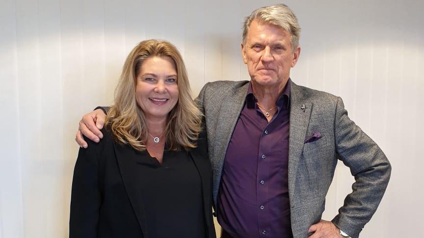 Anette Yngvesson och Thomas Ström