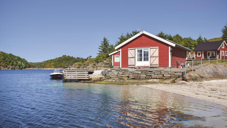 VIL TIL NORGE: Hytteferie i norsk natur frister svært mange europeere i år, viser ferske bookingtall. (Foto: Novasol)
