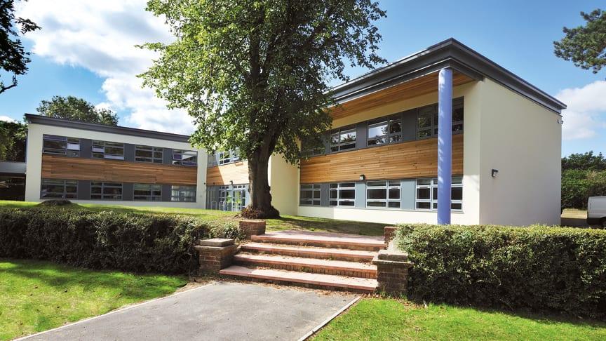 Das Auge lernt mit: Modulare Schulgebäude von Algeco verbinden anspruchsvolle Architektur mit smarter Bauweise.
