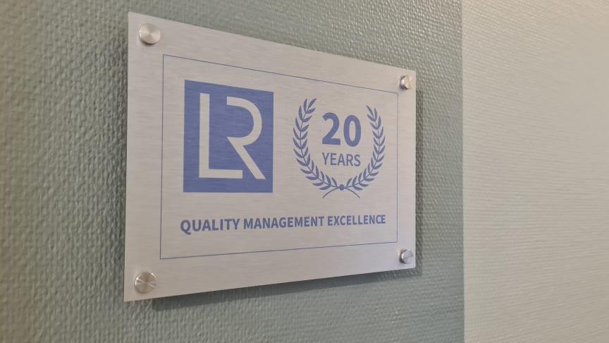 Som bevis för vårt långvariga kvalitetsarbete har vi blivit invalda i Hall of fame