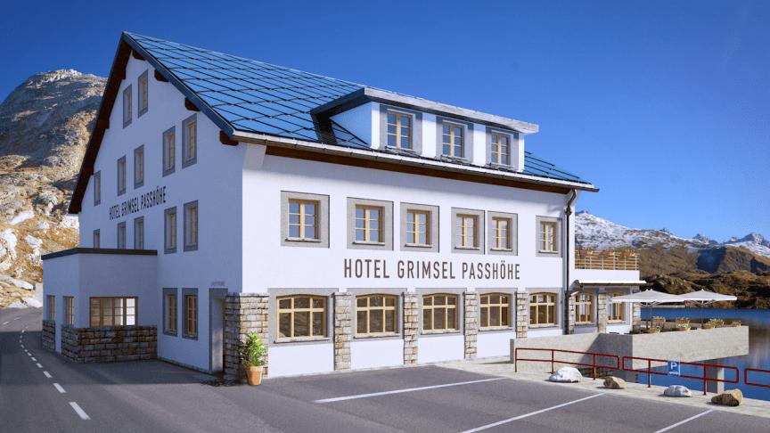 Hotel Grimsel Passhöhe © Hotel Grimsel Passhöhe