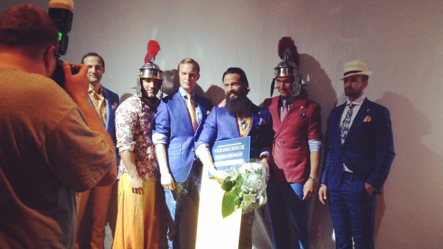 Castor Pollux får pris av Peugeot som Swedish Fashion Talent 2014