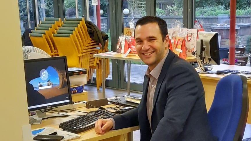 Andrew Lowden, Interim Head of Wellbeing
