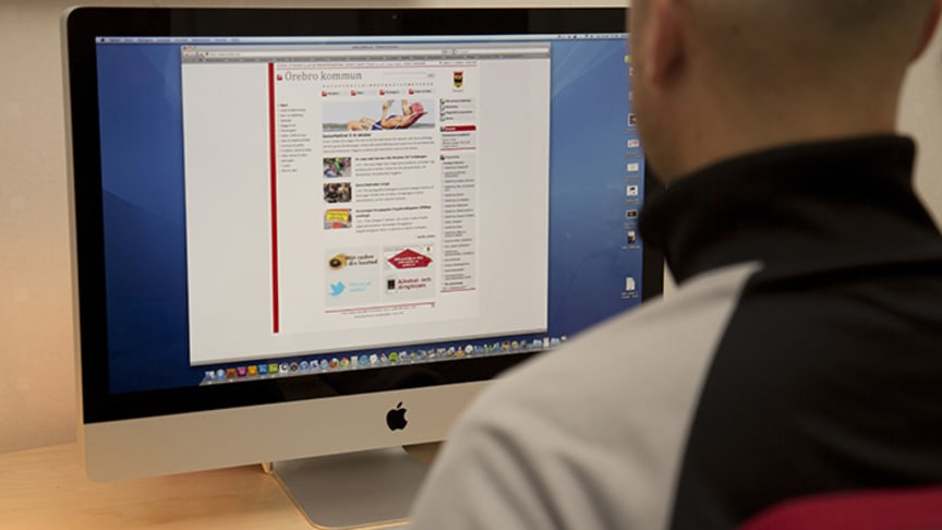 Redovisning via webben gör det enklare för gode män i Örebro kommun