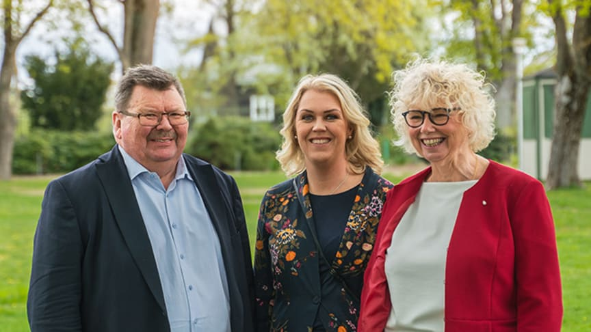 Lennart Magnusson, Nka, Socialminister Lena Hallengren, Ann-Marie Högberg AHR