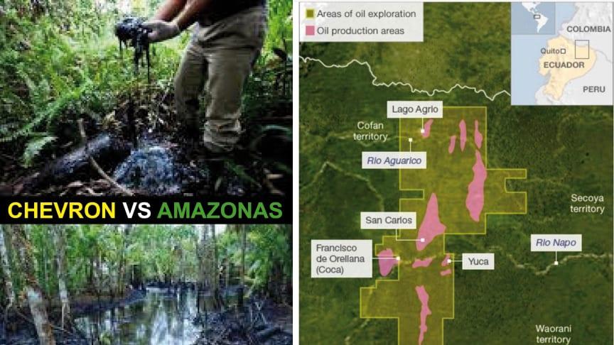 """Transnationella företag kan idag orsaka skador på människor och natur utan möjlighet att utkräva rättsligt ansvar. Fallet """"Chevron vs Amazonas"""" tydliggör behovet av en internationell lagstiftning."""