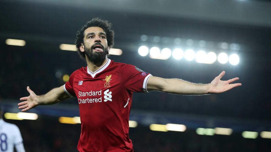 Liverpools Mohammed Salah