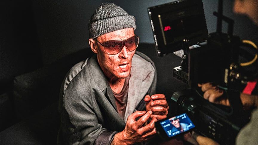 Raskolnikov med Preben Hodneland i hovudrolla har fått heile 6 Heddapris-nominasjonar - blant anna for beste mannlege hovudrolle. Foto: Dag Jenssen.