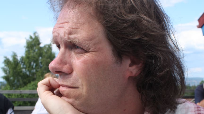 Pär Holmgren är nybliven ambassadör för tävlingen Energismarta Grannar