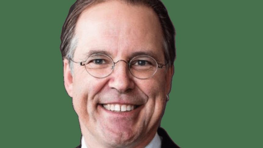 Anders Borg talar på Fastighetsmässan den 5 april 2019