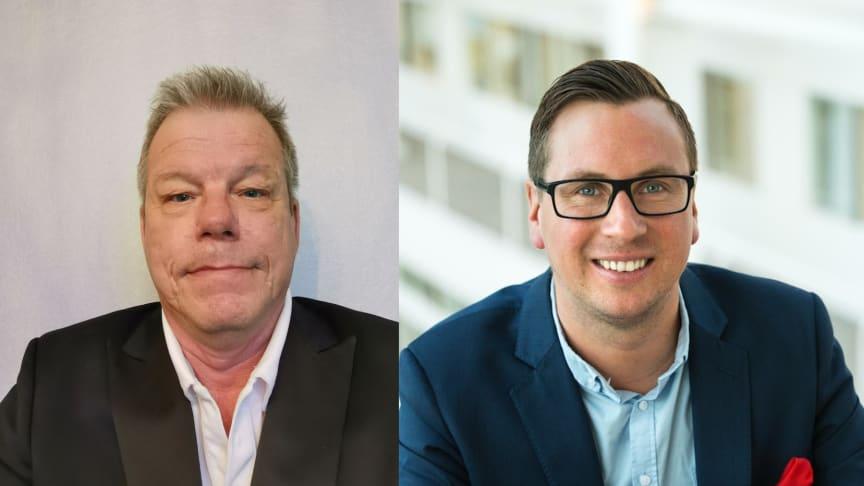 Fr v Per Ekdahl och Daniel Toftskär.