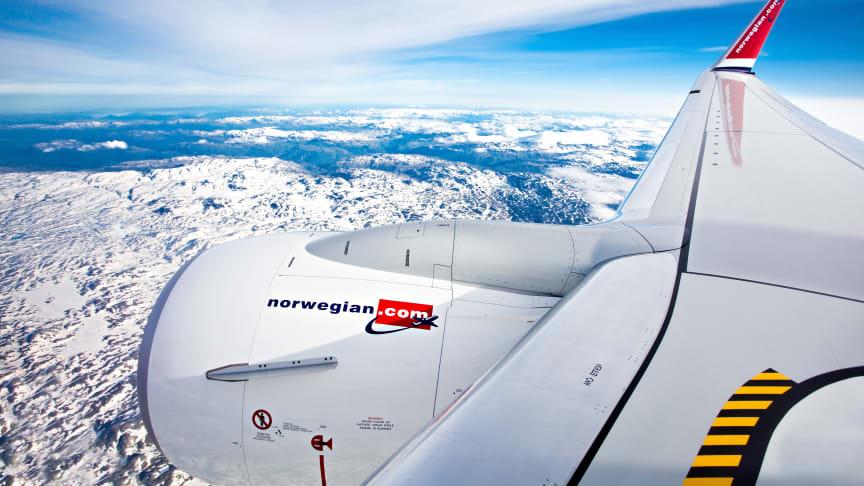 La COVID-19 continúa afectando las cifras de tráfico de Norwegian