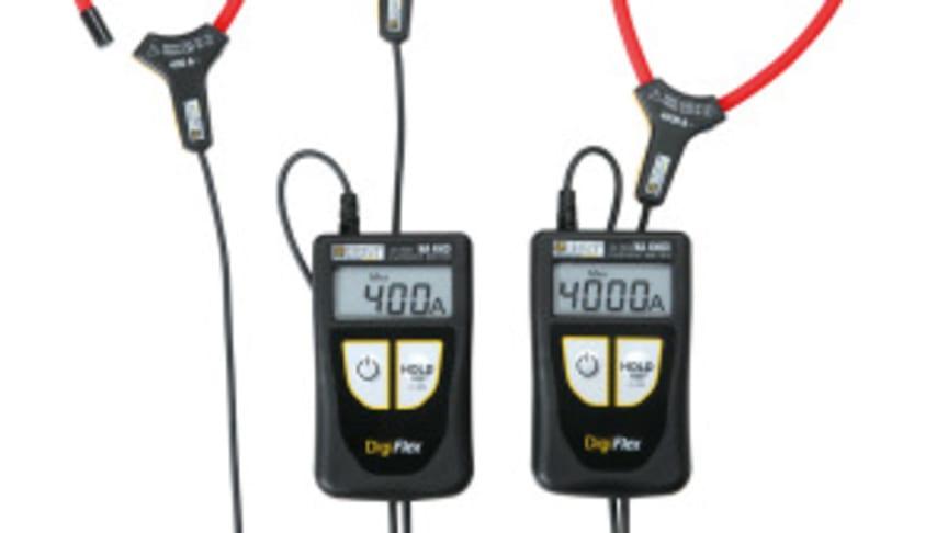 Flexibla strömtänger från Chauvin-Arnoux