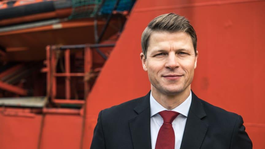 """""""Vi forventer, at 2018 bliver bedre end 2017. Der er grøde i markedet"""", siger ESVAGT's Chief Commercial Officer, Søren Karas."""